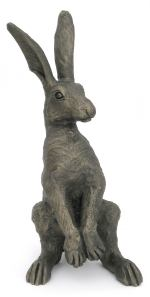 Suzie Marsh Medium Upright Alert Hare