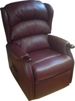 Celebrity Westbury Standard Dual Motor Rise Recliner in Cambridge Porto Leather